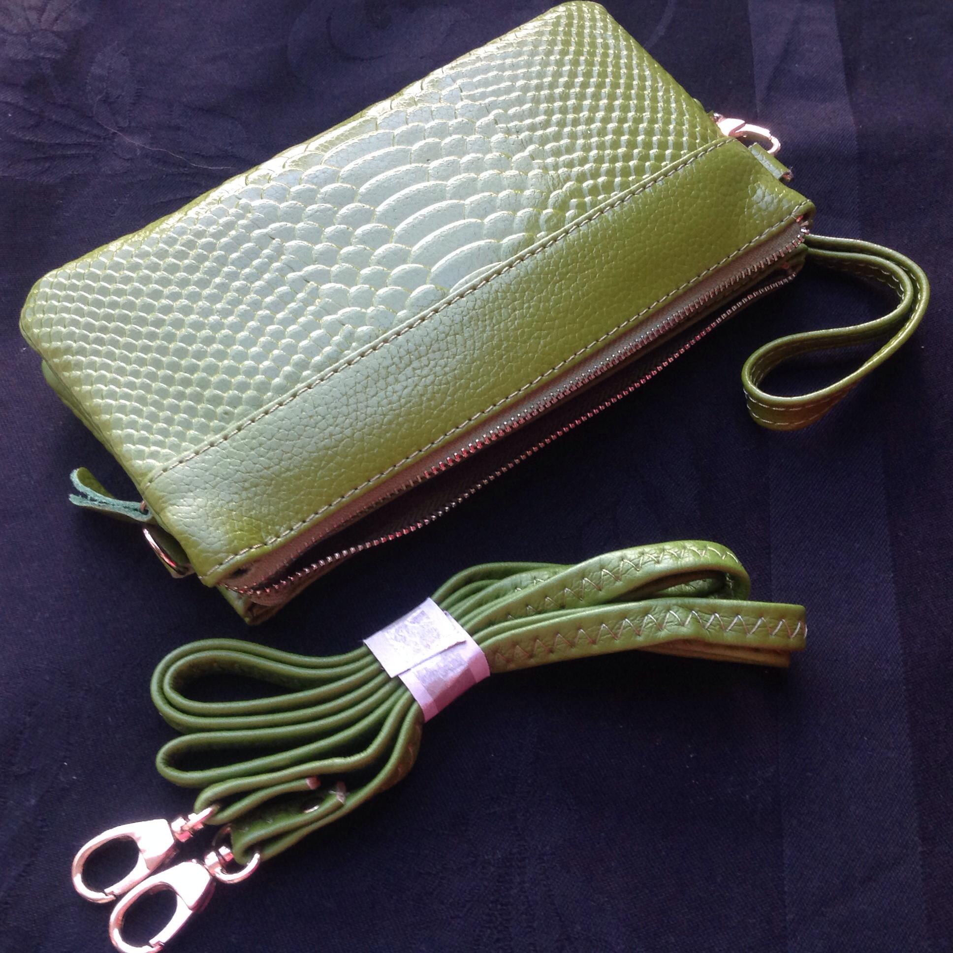 portemonnee tasje groen