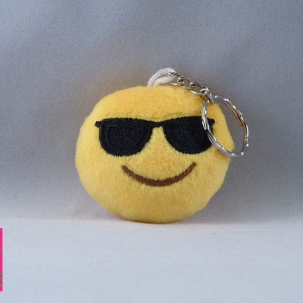 coole emoji met zonnebril